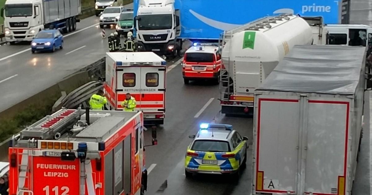 Nichts Geht Mehr Unfall Auf Der A14 Sachsen Fernsehen