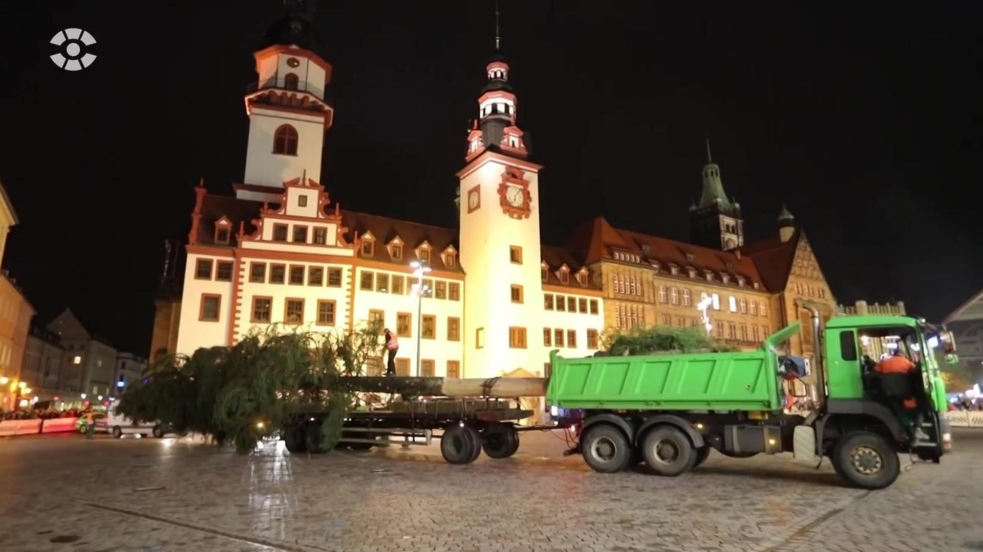 weihnachtsbaum chemnitz 2019