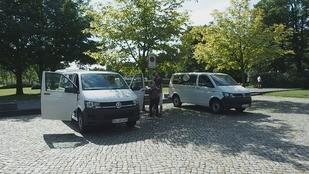Dresden for Friends, Sparen, Autovermietung, Kleinbus, Dresden Fernsehen, CarlundCarla.de, Carl und Carla, Umzug, © Sachsen Fernsehen