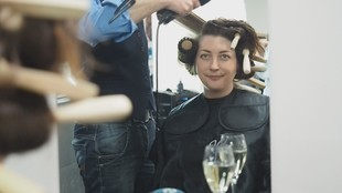 Dresden, Sachsen, Dresden for Friends, Sparen, Friseur, Haarschnitt, Trends, Hairdesgin, © Sachsen Fernsehen