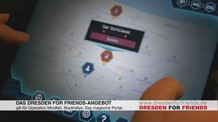Dresden, Dresden for Friends, Sparen, Angebot, Escape Room, Escape Game, Escape Games, Dresden Secrets, Adventure, Veranstaltung, Freizeit, Video, Tipp, Test, Sophia Matthes, © Sachsen Fernsehen