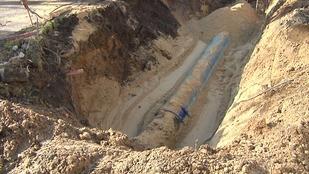 Rohr, Wasserleitung, Baustelle, Wasser, © Leipzig Fernsehen