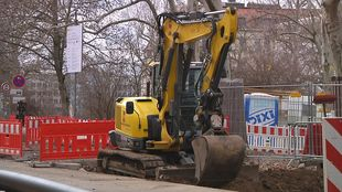Baustellen, Bauarbeiter, Bau, Verkehrseinschränkung, brückenbau, investitionen, bauamt, , © Leipzig Fernehen