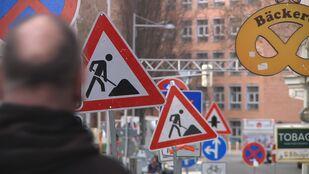 Baustellen, Bauarbeiter, Bau, Verkehrseinschränkung, brückenbau, investitionen, bauamt, , © Leipzig Fernsehen