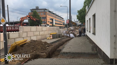© Twitter - Polizei Sachsen