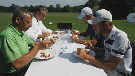 Golf, Kochen, Sport, Gerd Kastenmeier, Golfanlage Ullersdorf, Bert Ritthammer, © Sachsen Fernsehen