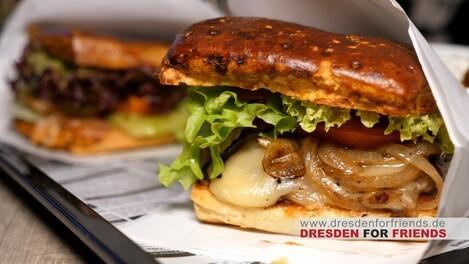 Dresden, Dresden for Friends, DDFF, Sparen, Essen, Ausgehen, Dresdner Neustadt, Trinken, restaurant, Burger, Burgerladen, Burger Restaurant, Kings Bread, BesserBurger, Vegan, Vegetarisch, © Sachsen Fernsehen