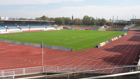 Heinz-Steyer-Stadion, Leichtathletik, Sport, Umbau, © Sachsen Fernsehen