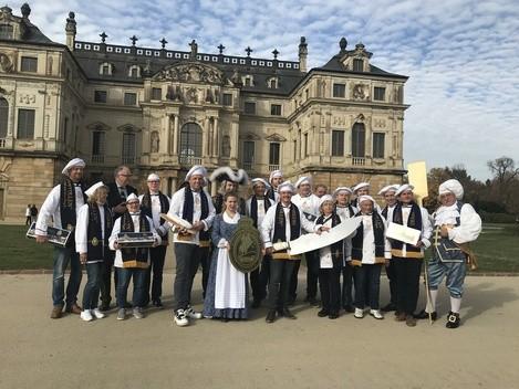 Dresden, Stollen, Weihnachten, Bäcker, Stollenmädchen, 2018, © Sachsen Fernsehen