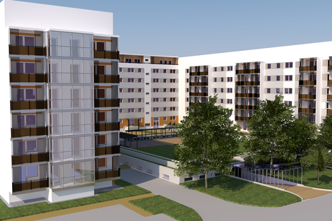 © Wohnungsbau-Genossenschaft Kontakt e. G.