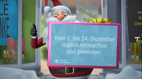 Adventskalender bei SACHSEN FERNSEHEN Chemnitz: www.sachsen-fernsehen.de/chemnitz-kalender, © SACHSEN FERNSEHEN
