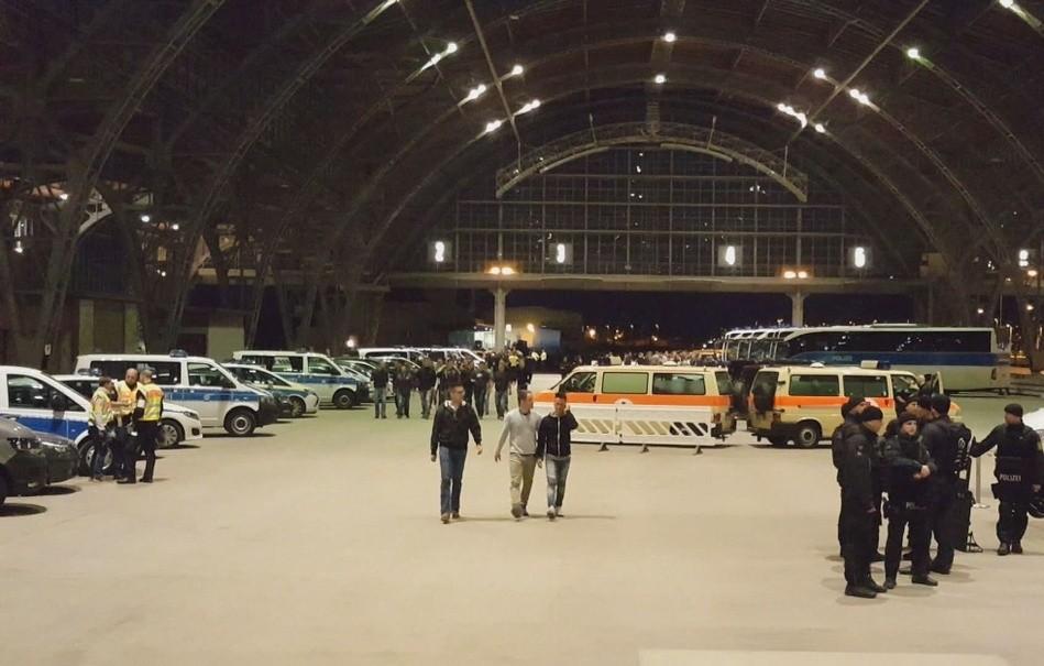 Terror-Übung am Leipziger Hauptbahnhof