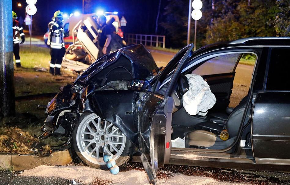 Ein Toter bei Unfall auf dem Chemnitzer Südring