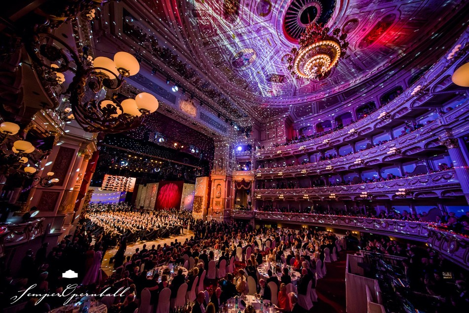 Semperopernball, Semperoper, Ball, Semperopernball 2018, Bilder, Fotos, Dresden, Promis, Guido Maria Kretzschmer, © Semper Opernball e.V. | Foto: Michael Schmidt