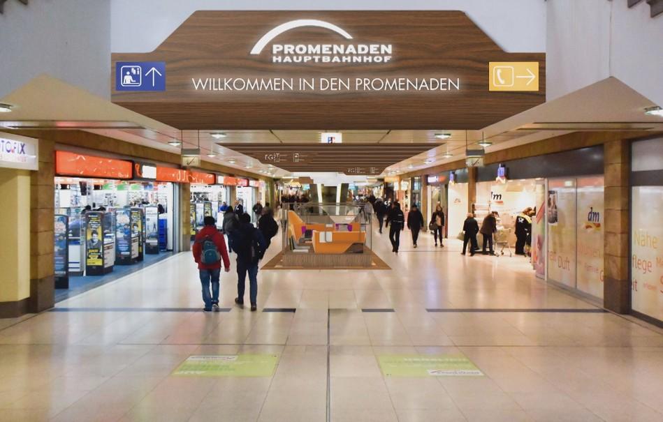 © Promenaden Hauptbahnhof