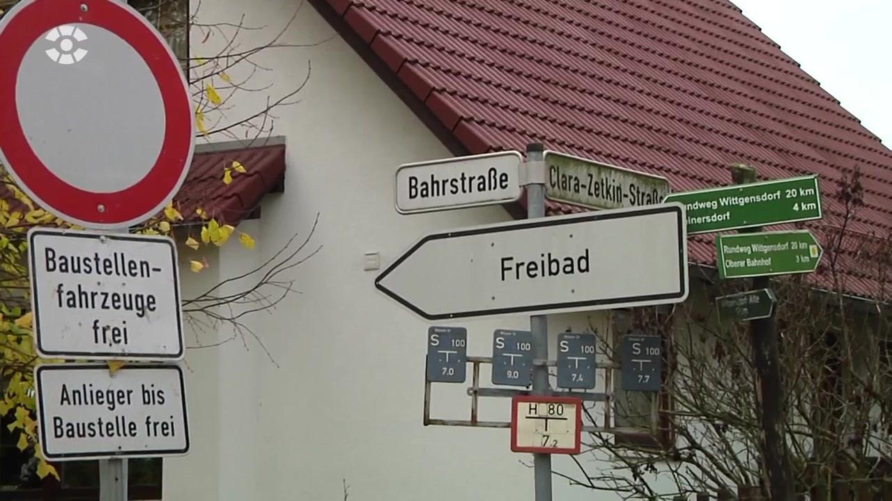 esc baut in wittgensdorf neuen regenwasserkanal | sachsen fernsehen