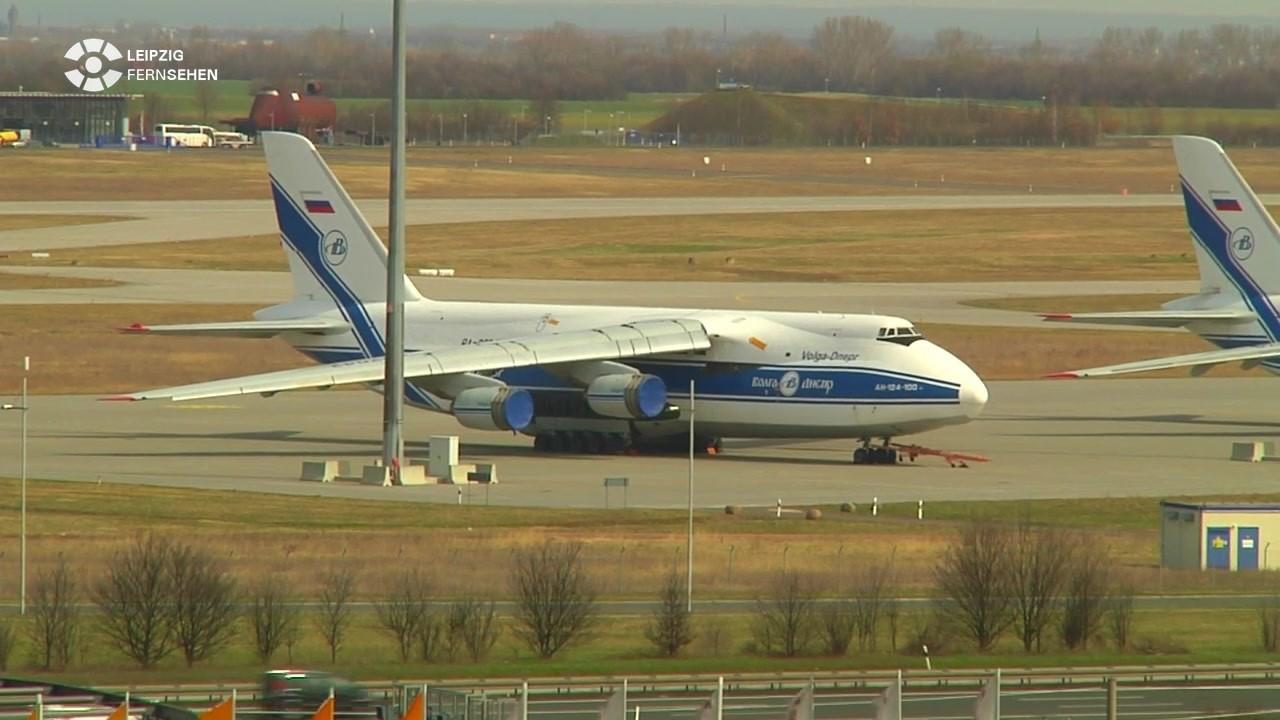 Das Größte Flugzeug Der Welt Landet In Leipzig Sachsen Fernsehen