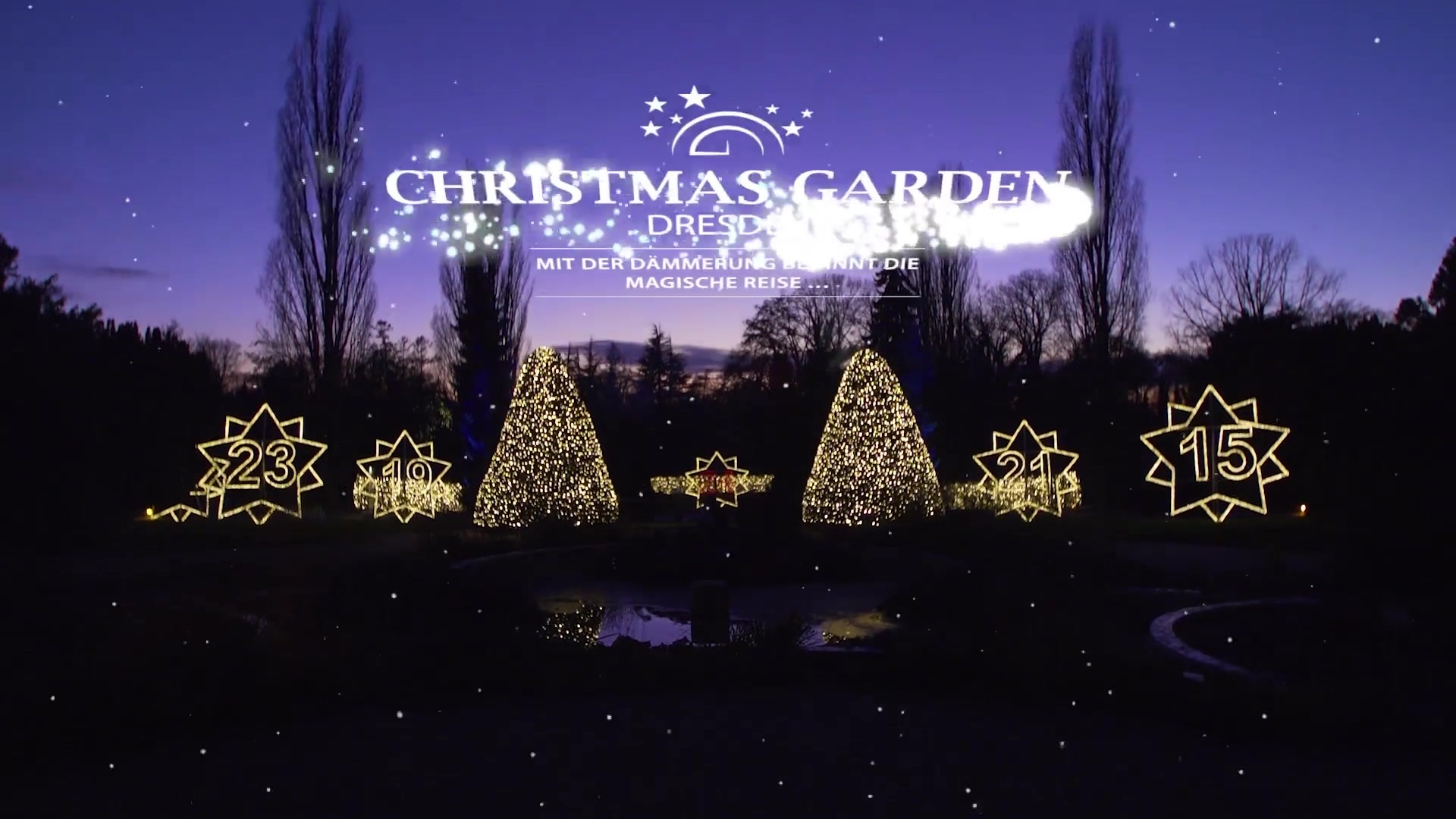Trailer Christmas Garden (Video) | SACHSEN FERNSEHEN